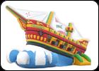 Батут Корабль Виктория