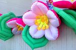 Распускающиеся цветы 12 метров