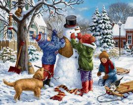 Аренда новогодних аттракционов для детей