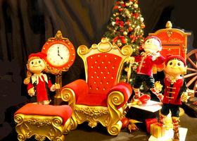 Новый год в торговых центрах и развлекательных торговых комплексах